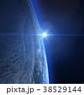 地球の日の出 perming 3DCGイラスト素材 38529144