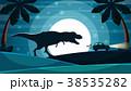 恐竜 車 自動車のイラスト 38535282