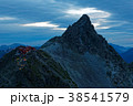 大喰岳から見る夜明けの槍ヶ岳 38541579