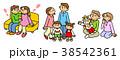 人物 成長 出産のイラスト 38542361