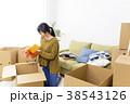 引っ越し 女性 ライフスタイルの写真 38543126