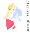 女性 イメージ モデルのイラスト 38547510