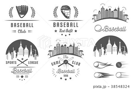 Set of Vector Logo and Badges Baseball 38548324