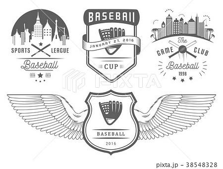 Set of Vector Logo and Badges Baseball 38548328