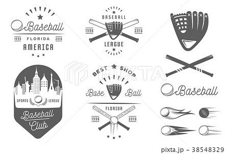 Set of Vector Logo and Badges Baseball 38548329