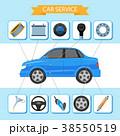 ベクトル 車 自動車のイラスト 38550519