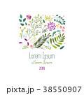 フラワー 花 広場のイラスト 38550907