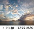 Sunset in caribbean islands 38551680