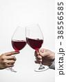ワインで乾杯 38556585