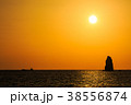 風景 日没 太陽の写真 38556874