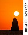 風景 日没 太陽の写真 38556884