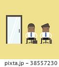 アフリカ産 ビジネス 接見のイラスト 38557230
