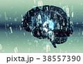 テクノロジー アブストラクト AIのイラスト 38557390