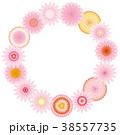 花 リース 植物のイラスト 38557735