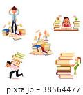 ベクトル 本 教育のイラスト 38564477