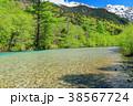 風景 川 山の写真 38567724