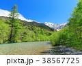 風景 川 山の写真 38567725