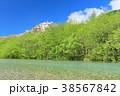 風景 川 山の写真 38567842