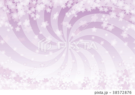 背景素材壁紙和風桜の花びらさくらの木春満開渦巻き集中線無料
