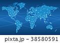 ネットワーク ビジネス グローバルのイラスト 38580591