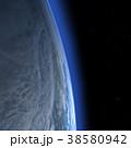 地球 惑星 3DCGのイラスト 38580942