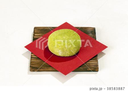 和菓子よもぎ饅頭 38583887