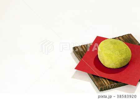 和菓子よもぎ饅頭 38583920