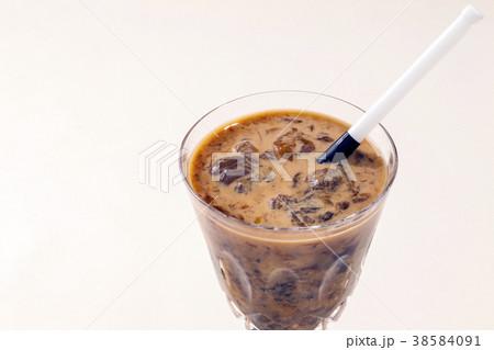 コーヒーゼリーシェイク 冷たい飲み物 38584091