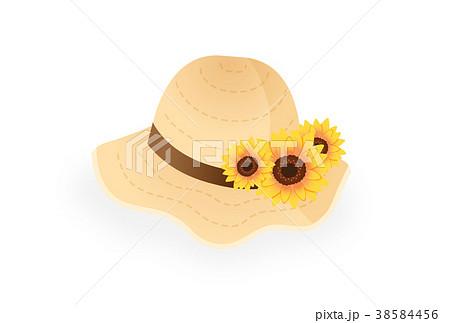 麦わら帽子 38584456