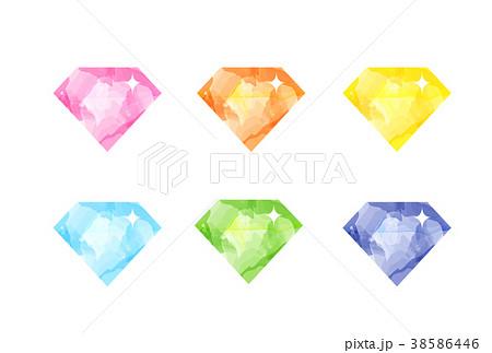 ダイヤモンド 38586446