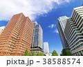 高層ビル ビル オフィス街の写真 38588574