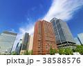 高層ビル ビル オフィス街の写真 38588576