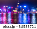 《香港》香港島の夜景 38588721