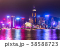 《香港》香港島の夜景 38588723