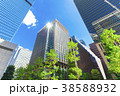 高層ビル ビル オフィス街の写真 38588932