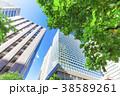 高層ビル ビル オフィス街の写真 38589261