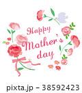 母の日 イラスト 38592423