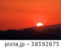 夕日 日没 太陽の写真 38592675