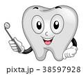 歯 マスコット デンタルのイラスト 38597928