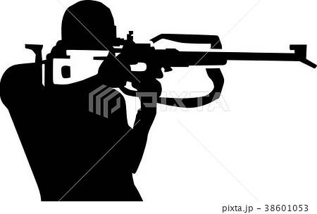 Biathlon Silhouette Shooting 38601053