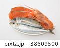 水産物 魚 海老の写真 38609500