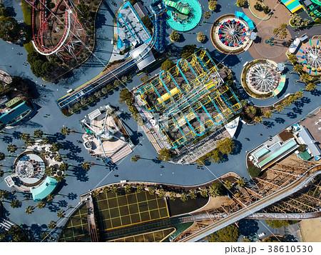 ナガシマスパーランドの航空写真 38610530