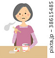 人物 シニア 女性のイラスト 38615485