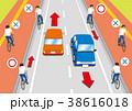 自転車 交通ルール ルールのイラスト 38616018