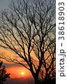 夕日 夕焼け 風景の写真 38618903