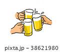 ビール 乾杯  宴会イメージ 38621980