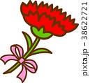 ベクター カーネーション 母の日のイラスト 38622721