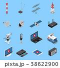 セット 組み合わせ アイコンのイラスト 38622900