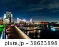横浜市 夜景 海の写真 38623898
