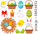 EASTER イースター 復活祭のイラスト 38624852